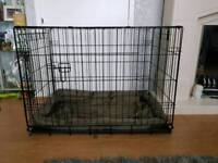 Large doge cage with crate mat