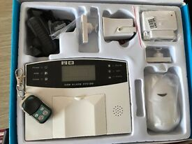 wireless home alarm in good unused condition