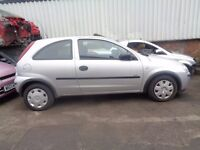 BREAKING -- Vauxhall Corsa Life Twinport 1L Petrol 60BHP -------- 2005