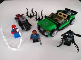 Lego Spiderman: Spider Cycle Chase