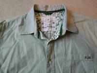 Rocha John Rocha shirt, green, size large