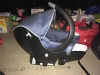 Bebe confort carrycot and car seat