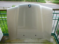 BMW E36 Titanium Silver Bonnet