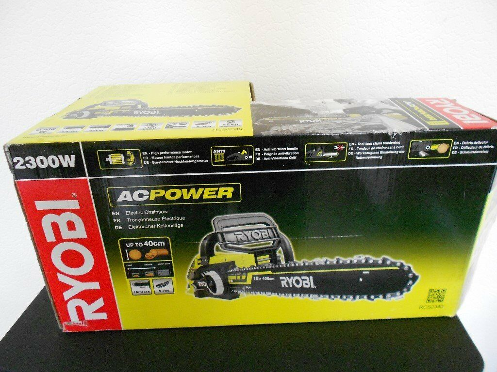 Ryobi 2300w Electric Chainsaw In Grimsby Lincolnshire