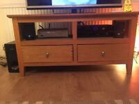 Wooden TV Stand. Good Condition