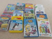 15 childrens DVDS