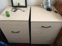 Bedside drawer units
