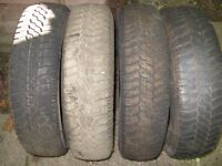 4 165 X 13 tyres £10 each