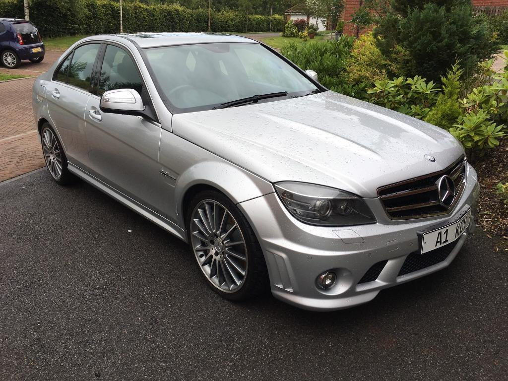 mercedes c63 amg 2008 61k miles fsh silver in bathgate west lothian gumtree. Black Bedroom Furniture Sets. Home Design Ideas