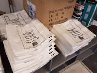 Plastic Vest Carrier Bags (White)