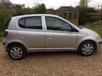 2003** 53 Toyota Yaris -VVTI - Silver - good condition - Perfect first car