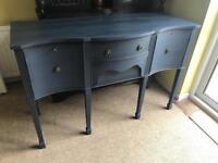 Refurbished Vintage Solid Mahogany Sideboard/Dresser (Can Deliver)
