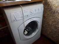 Washer dryer. Hotpoint