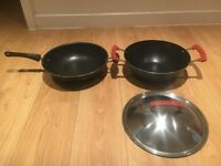 2 IKEA Non Stick Frying Pans