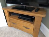 Next Solid Wood TV Unit
