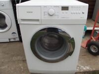 SIEMENS 6KG WASHING MACHINE IN GOOD WORKING ORDER BUT HAS MARKS ON SIDE OF MACHINE HENCE THE PRICE