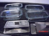 hostess dishes with lids,set of four