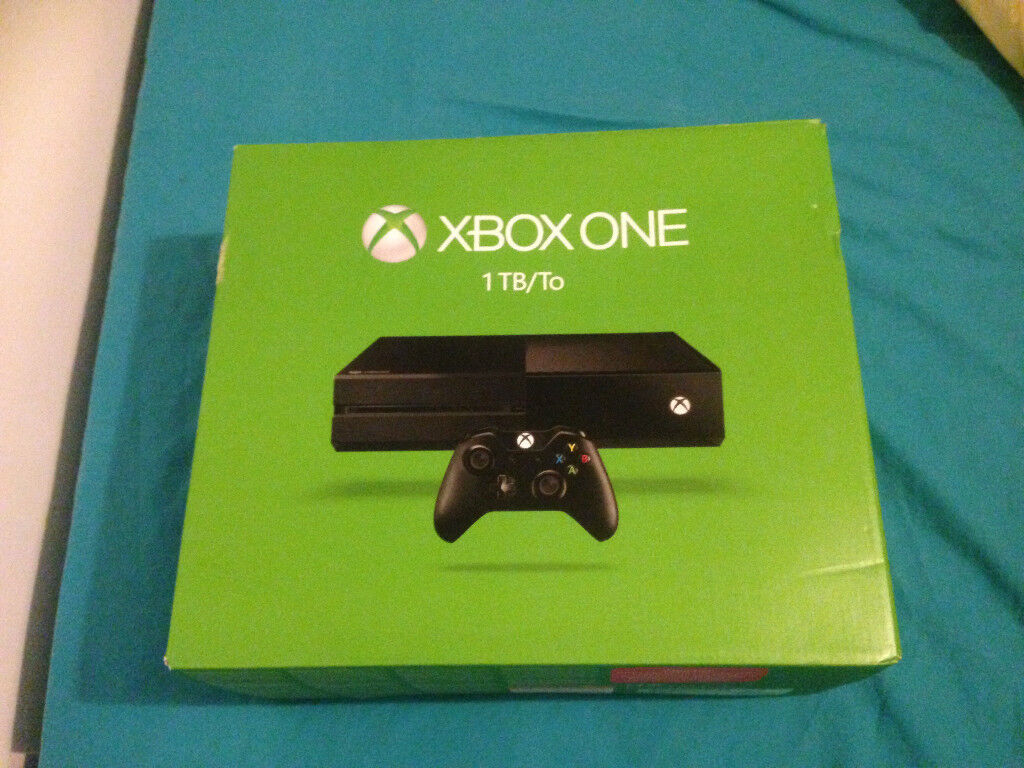 Xbox One 1TB console, 6 games, 2 controllers and media remote