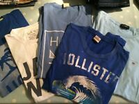 Hollister tshirts & others