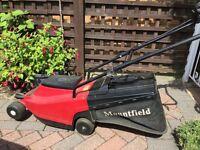 Used Mountfield Princess 14 electric lawnmower