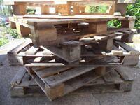 6Pcs Wooden Pallets