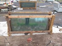 greenhouse glass large sheets 4mm thick.1676mm by 730mm