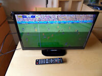 24' LED TV BLAUPUNKT + remote control.