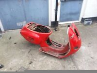 vespa piaggio et 125cc frame replacement part