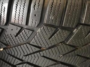 225/45/17 Gislaved hiver 8-11/32 + rims 17 pouces BMW   5x120