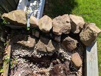 Rockery stones / rocks