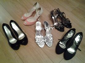 Ladies party shoes various styles