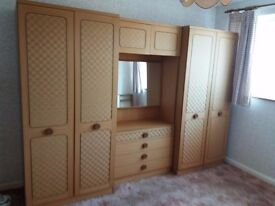 6 piece bedroom furniture set