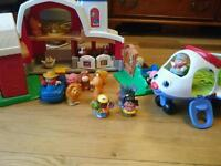 Fisher Price Farm and Plane