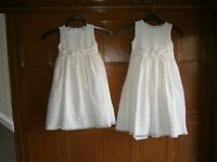 Bridesmaid/flowergirls dresses