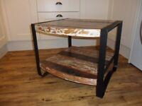 Reclaimed wood coffee/side table