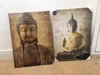 Buddha canvasses