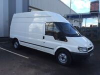 FORD TRANSIT LWB 06 PLATE FULL YEARS M.O.T VERY GOOD CONDITION £2600
