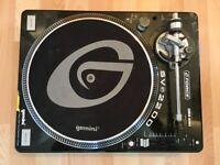 Gemini SV-2200 G-Force Professional DJ Turntable