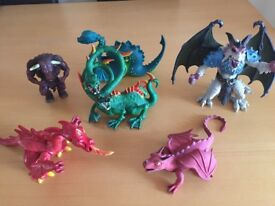 Dragons/Mythical Creatures Toy Bundle