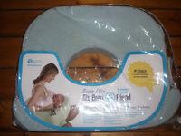 My Brest Friend Twin Breastfeeding/Nursing Pillow - Blue Stripe