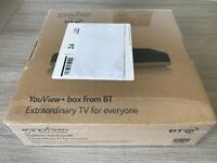 Humax BT YouView+ box (DTR-T2100) 500Gb hard drive, Brand new- Still Wrapped!