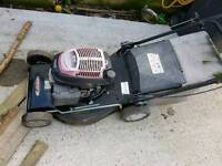 Honda lawn mower starts but stops might just need a service