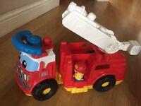 Mega blocks fire engine