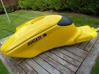 Ducati 999/748 parts. 999/748 petrol tank. biposta seat unit, biposta steel sub frame.