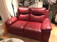 La-Z Boy Leather Sofa, like new, nearest offer