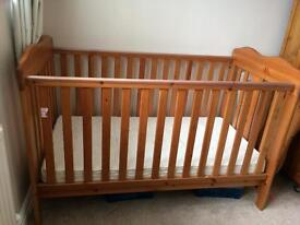 Cot / toddler bed - used.