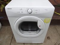 HOOVER 8KG CONDENSER TUMBLE DRYER FULLY REFURBISHED COMES WITH 3 MONTHS WARRANTY