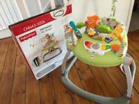 Space saving jumperoo like new condition