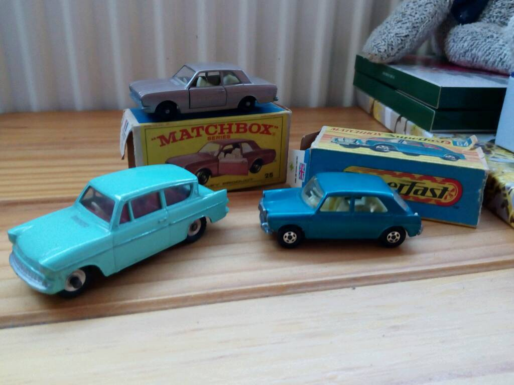 Dinkyin York, North YorkshireGumtree - Matchbox 64 mg 1100 matchbox 25 cortina mk 2 dinky ford anglia 155 all mint cond