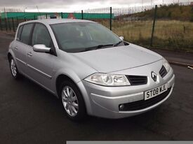 2008 Renault Megane 1.5 dci , mot - JULY 2017 ,only 82,000 miles,full service history,astra,focus